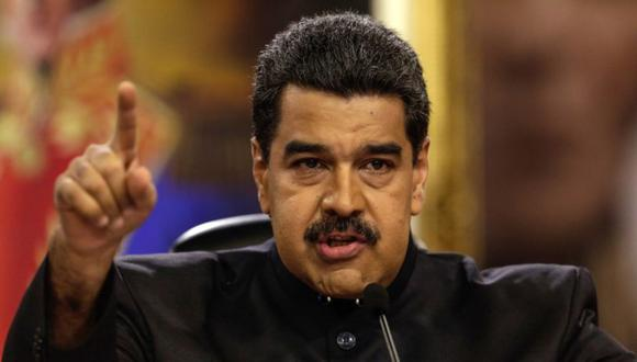 """La fuerza armada venezolana """"no se va a arrodillar más nunca a los gringos"""", afirmó el mandatario de Venezuela, Nicolás Maduro. (Foto: EFE)."""