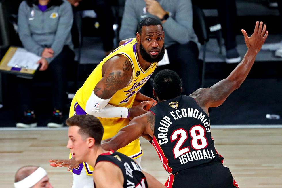 Lakers vs Heat. Final de la NBA. (Foto: USA TODAY Sports)