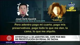 Tacna: investigan a 23 agentes del INPE por red de prostitución