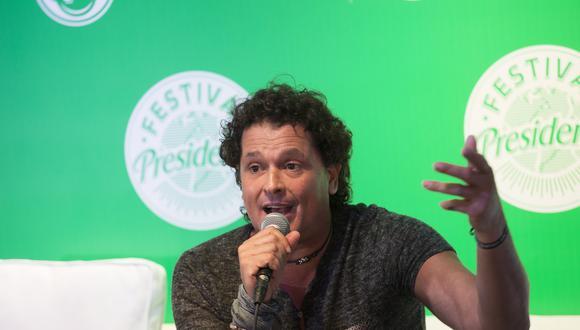 """""""La tierra del olvido"""" de Carlos Vives vuelve renovada al cumplir 25 años. (Foto: AFP/Erika Santelices)"""