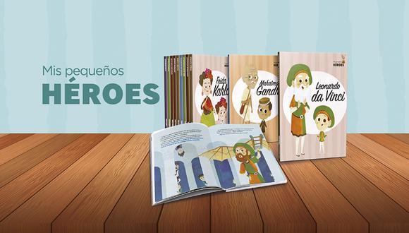 Una colección de 30 libros en tapa dura de tus personajes más queridos de la historia.