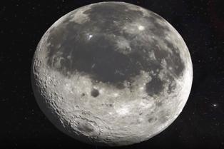 La Luna presenta una radiación peligrosa
