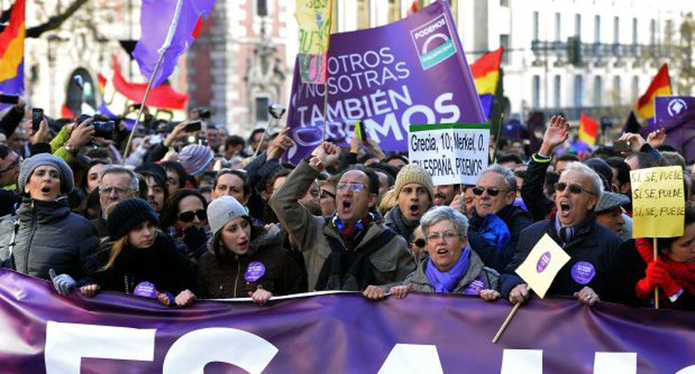 España: Podemos moviliza a miles de ciudadanos en Madrid