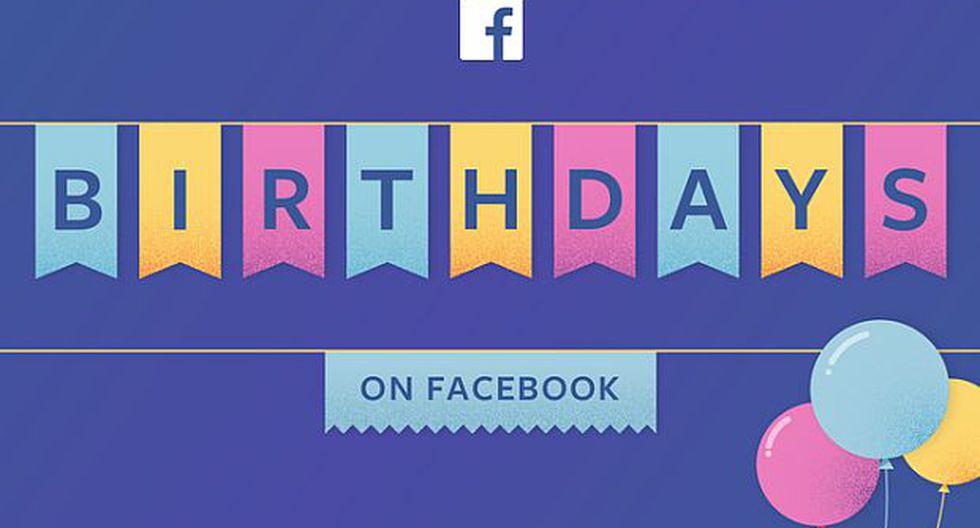 La opción es una forma fácil de enviar un saludo especial de cumpleaños, tanto como el hecho de escribir un simple 'Feliz cumpleaños'. (Foto: Facebook)