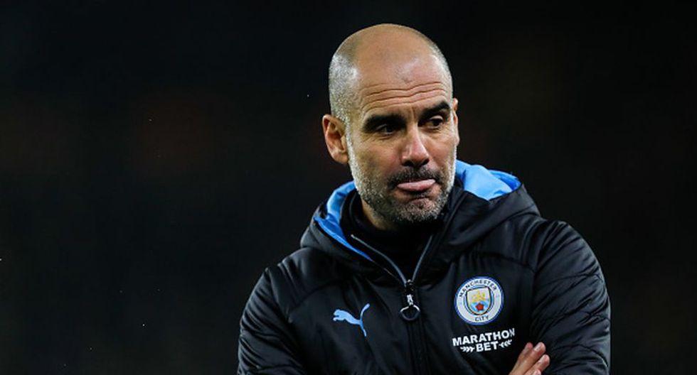 Pep Guardiola llegó al Manchester City en la temporada 2016. (Getty)