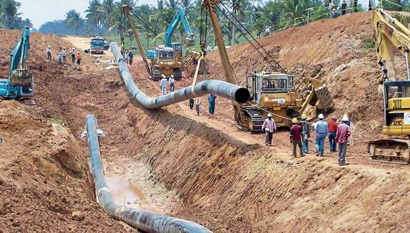 Gasoducto está paralizado desde 2017. (GEC)