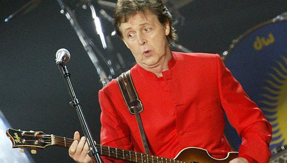 Paul McCartney. (Foto: Agencias)