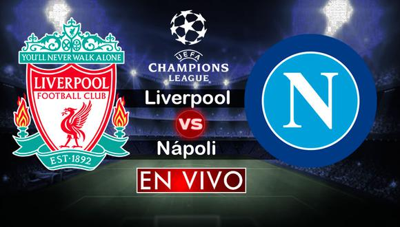 Liverpool recibe al Napoli en Anfield por la sexta fecha de la Champions League por el Grupo C. (Foto: Composición)