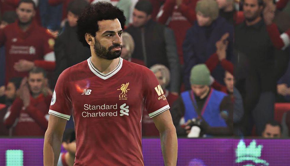 Mohamed Salah en FIFA 19. (Captura de pantalla)