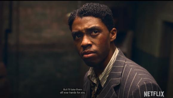 """Participación de Chadwick Boseman en """"Ma Rainey's Black Bottom"""" conmueve a fans. (Foto: Captura Netflix)"""
