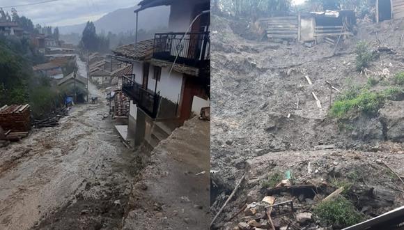 Ancash: Lluvias con granizada hicieron colapsar casa y dañaron otras 27 viviendas (Foto: COER Áncash)