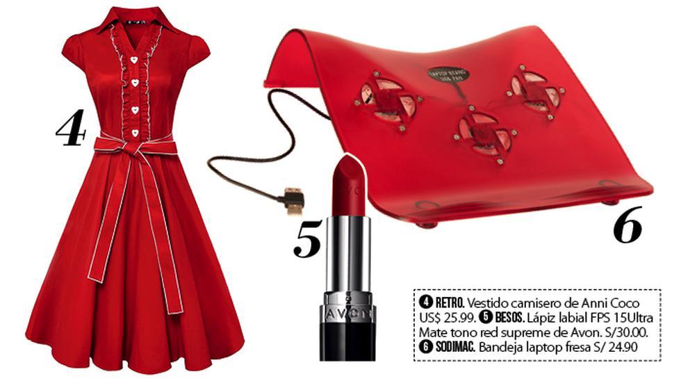 Lady in red: Cómo llevar un color que nunca pasa de moda - 3
