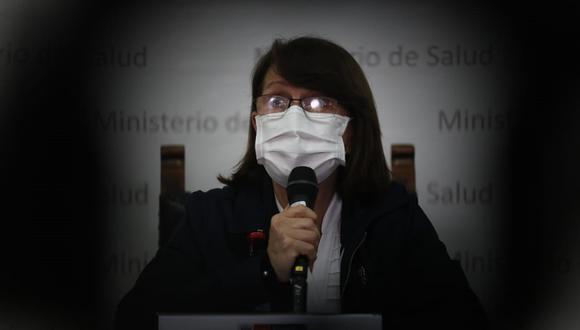Ministra de Salud explicó que la etapa final se refiere a que los ciudadanos tenemos que aprender a convivir con el virus. (Foto: GEC)