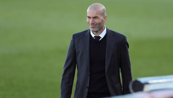 Zinedine Zidane se refirió al partido contra Liverpool en la Champions League. (Foto: EFE)