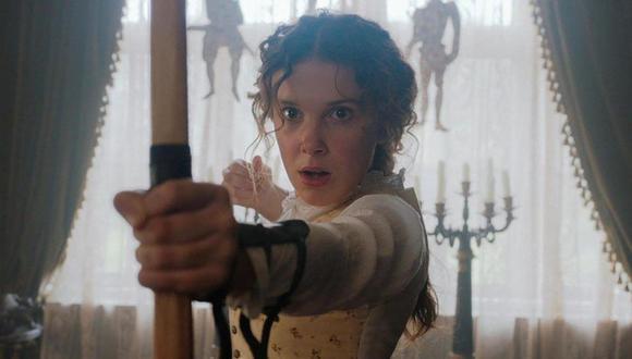 """Millie Bobby Brown, protagonista de la película """"Enola Holmes"""" (Foto: Netflix)"""