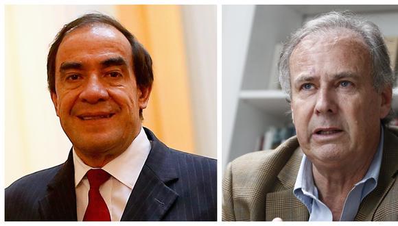 Yonhy Lescano y Alfredo Barnechea se enfrentarían en las internas de Acción Popular con miras a las elecciones del 2021 (Fotos: Geraldo Caso, César Fajardo / Grupo El Comercio)