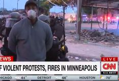 Policía de Minneapolis detiene a periodista de CNN durante transmisión en vivo de las protestas | VIDEO