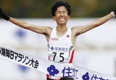 Atleta japonés rompe nuevo récord en maratón