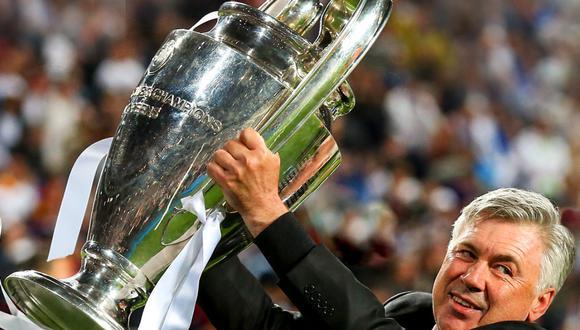 Carlo Ancelotti conquistó la 'Décima' con el Real Madrid. (Foto: Agencias)