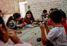 Montón de colores, el espacio que transforma la vida de niños en extrema pobreza a través del arte