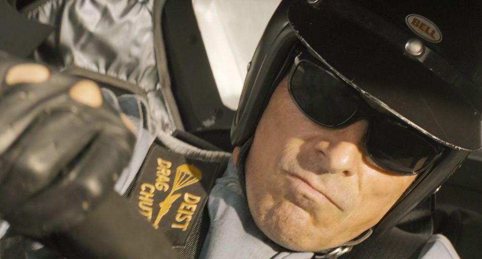"""Christian Bale en una escena de """"Contra lo imposible"""" (""""Ford v. Ferrari""""). (Foto: AP)"""