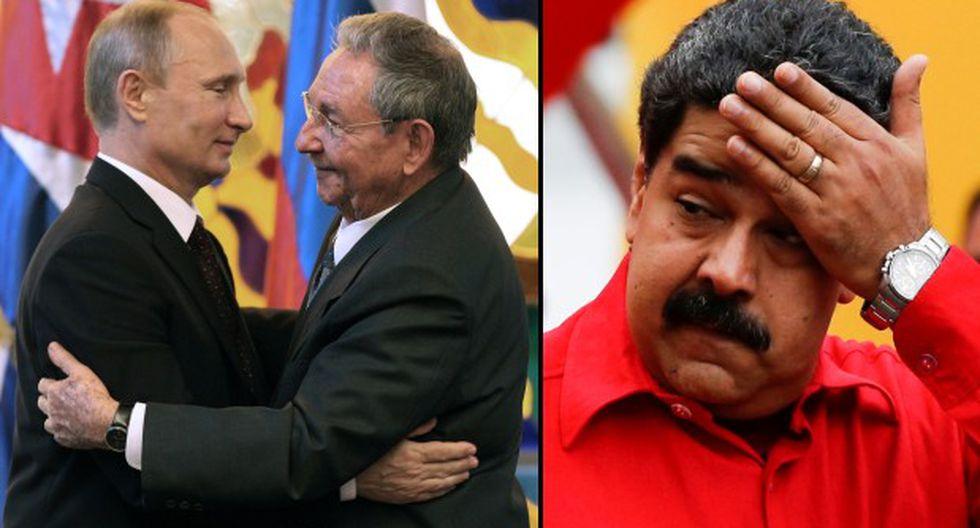 Cuba pide petróleo a Rusia ante los problemas de Venezuela