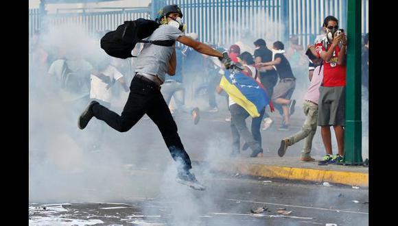 #21F: opositores vuelven a chocar con fuerzas de Nicolás Maduro