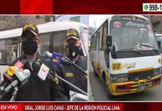 SMP: policía abate a un delincuente tras frustrar asalto a pasajeros en una coaster