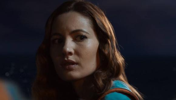 """Al final de temporada 3 de """"Alta mar"""", Eva abordó uno de los botes salvavidas (Foto: Netflix)"""
