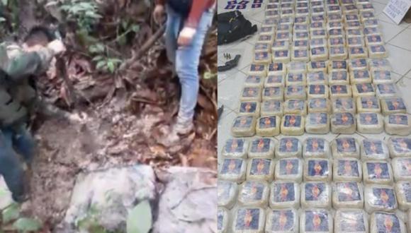 Policías aseguraron la carga y la trasladaron hasta las instalaciones del DEPOTAD-Tarapoto para continuar con las diligencias preliminares de ley. (Foto: PNP)