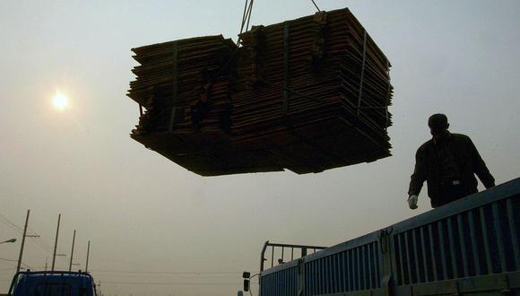 La semana pasada, el cobre traspasó el umbral de US$7.000 por primera vez en 28 meses. (Foto: AFP)