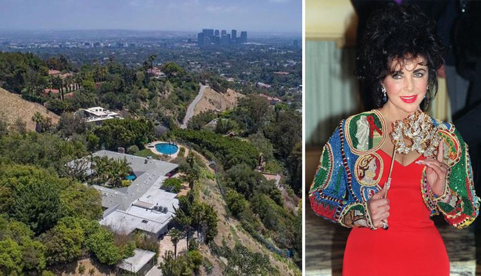 La casa de Beverly Hills donde vivió Elizabeth Taylor en la década de 1950 con su entonces esposo, Michael Wilding, está a la venta. ¿Su valor?  US$ 16 millones. (Foto: The MLS/ AFP)