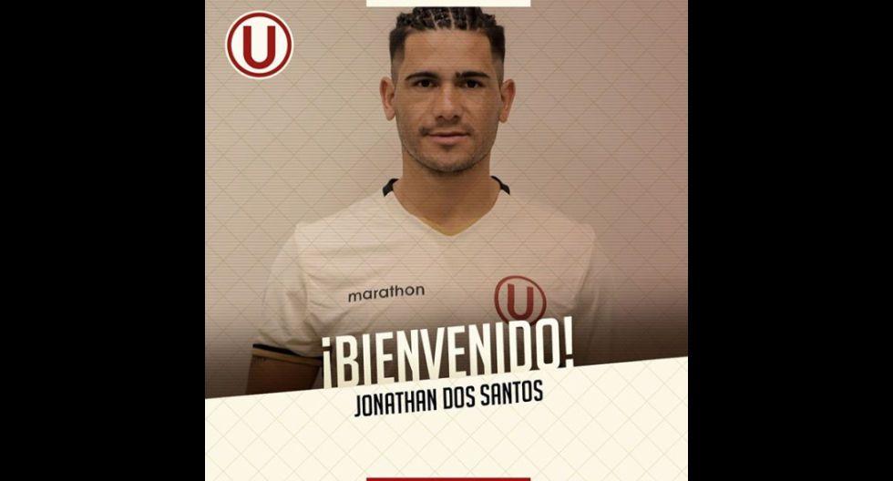 Jonathan dos Santos procedente de Cerro Largo de Uruguay. (Foto: Twitter)