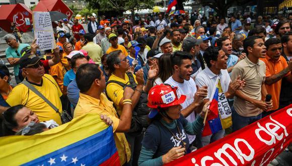 """Para aprovechar plenamente el potencial económico de la migración venezolana tenemos un conjunto de opciones disponibles"""" (EFE)"""