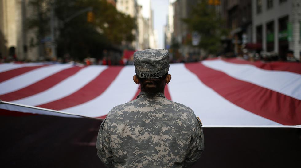 EE.UU. rindió homenaje a sus veteranos de guerra - 1