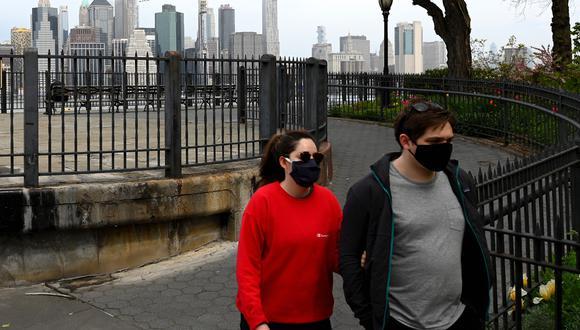 Nueva York es el estado más golpeado de Estados Unidos por la pandemia del coronavirus. (Foto: AFP/Angela Weiss)