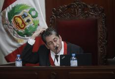 Magistrado del TC Eloy Espinosa-Saldaña es denunciado por presunto plagio en la PUCP