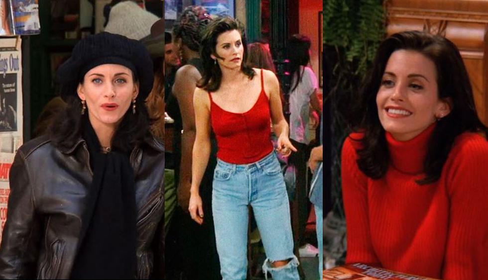 Muchos dicen que Rachel Green fue el personaje más fashionista de Friends. Sin embargo, el estilo de Monica Geller lo sobrepasó en varias ocasiones y es hasta hoy referente de moda con distintas tendencias. En esta galería, recordamos algunas de sus combinaciones de moda más irresistibles. (Fotos: Difusión)