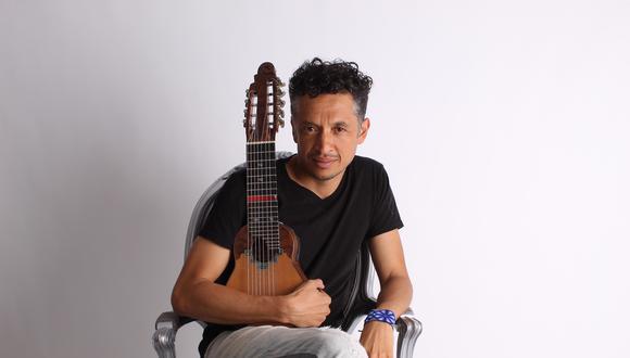 César Aguilar, músico peruano nacido en Chosica, es un difusor de la música peruana en Finlandia. (Foto: Archivo personal)