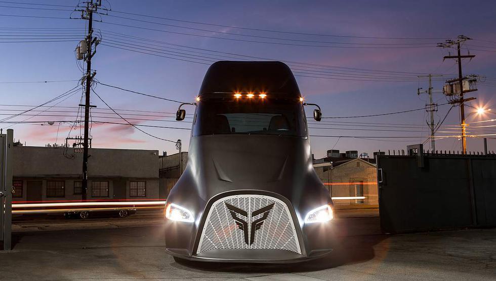 Camión eléctrico Thor ET-One