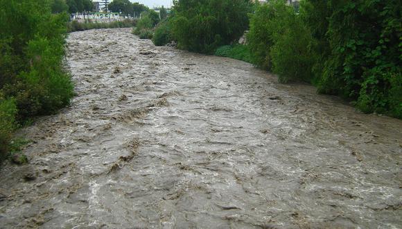 Incremento del caudal en el río Chili. (Foto: Archivo)