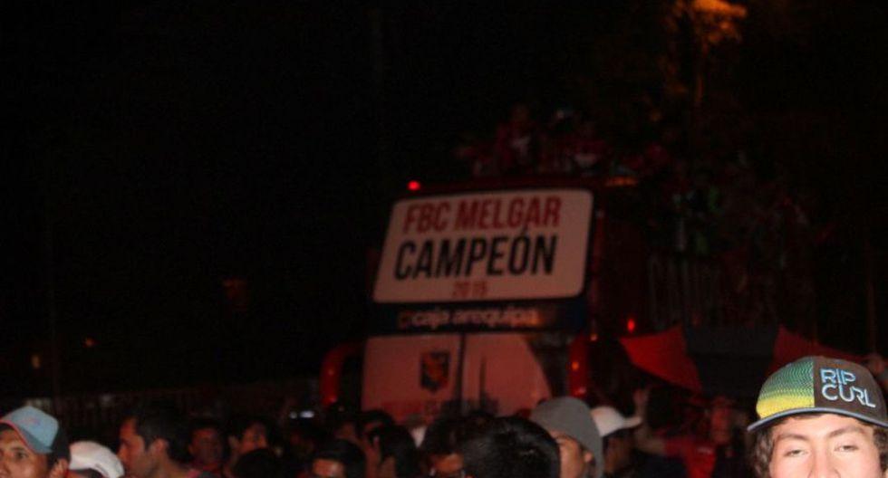 Melgar y su fiesta en Arequipa por el campeonato (FOTOS) - 13