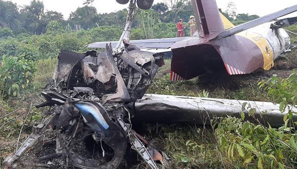Avión sufrió fallas mecánicas en el tren de aterrizaje.