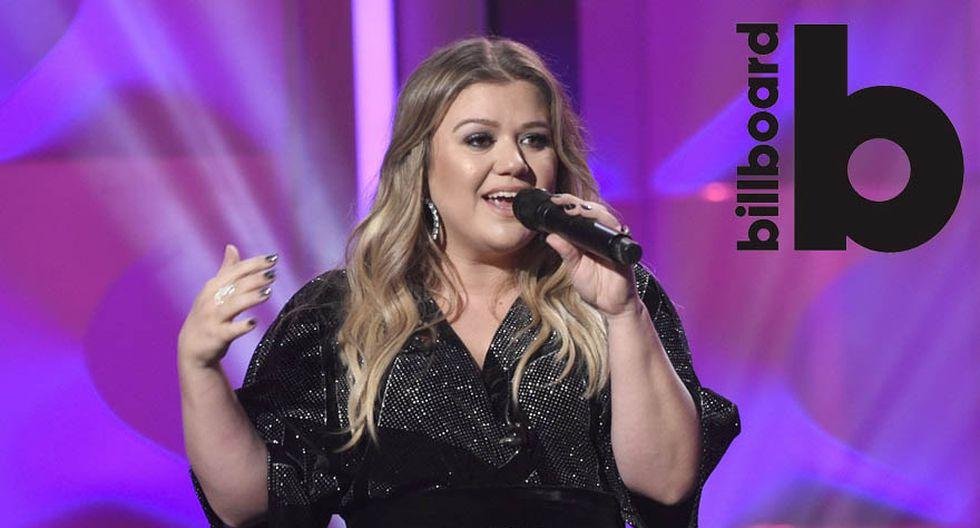 Kelly Clarkson conduce los Billboard 2018. (Foto: Agencias)