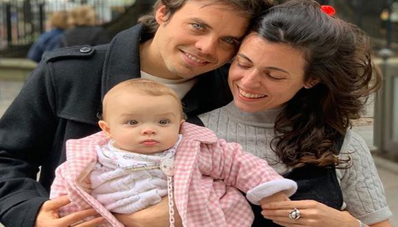 Benjamín tiene una relación de casi 10 años con la madre de su hija