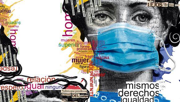 """""""En el marco del Día Internacional de la Mujer, fortalecemos nuestro compromiso por aportar a cambios que corten con las raíces de la desigualdad y exclusión"""". (Ilustración: Giovanni Tazza)"""