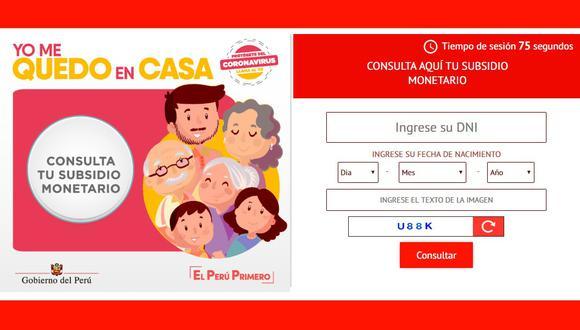 El gobierno de Martín Vizcarra destinó un fondo de S/ 1.170 millones para atender las bonificaciones que comenzarían a entregarse a partir del lunes.(Foto: difusión)