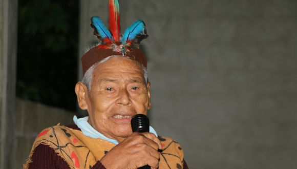 José Tijé falleció a los 81 años. Fue reconocido como defensor de los derechos de los pueblos indígenas (Foto: cortesía)