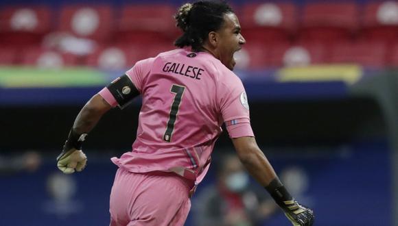 Pedro Gallese gue titular en todos los partidos de la selección peruana en la Copa América. (Foto: Reuters)