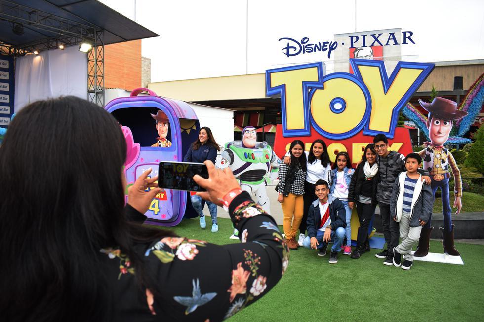 """La nueva entrega de """"Toy Story"""" llega a los cines de todo el Perú este 20 de junio. (Fotos:  Luis Pino Robles)"""